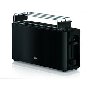 Braun HT 3110BK PurEase Toaste 2-Schlitz Toaster schwarz