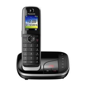 Panasonic KX-TGJ320 schwarz DECT Schnurlostelefon