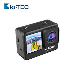 Ki-Tec ATQ61CR4K-60fps Dual-Screen Actioncam