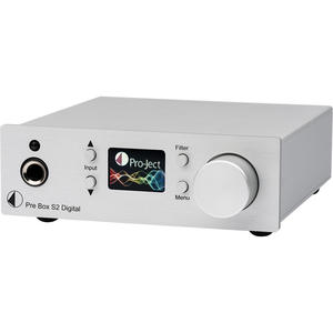 Project Pre Box S2 Digital silber High End D/A Converter u. Kopfhörerverst