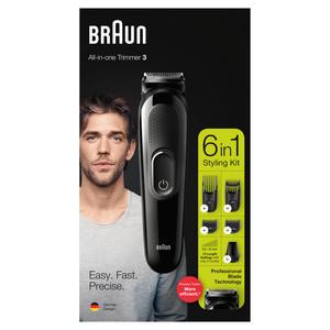 Braun MultiGroomingKit MGK3225 Schwarz