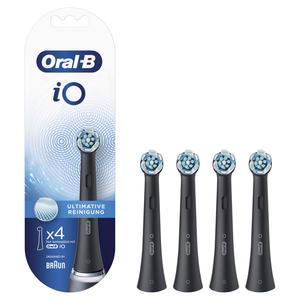 Oral-B Aufsteckbürsten iO Ultimative Reinigung BLACK 4er