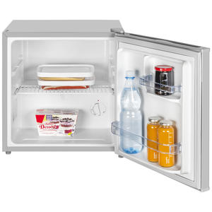 Exquisit KB 05-15 A++ Grau Mini Kühlschrank, Kühlbox,