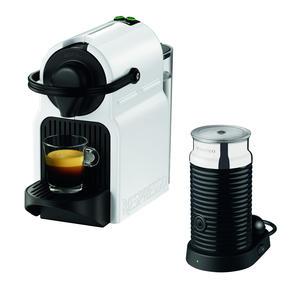 Krups XN1011 Inissia & Milk White Nespresso Kapselmaschine Kaffeemaschine