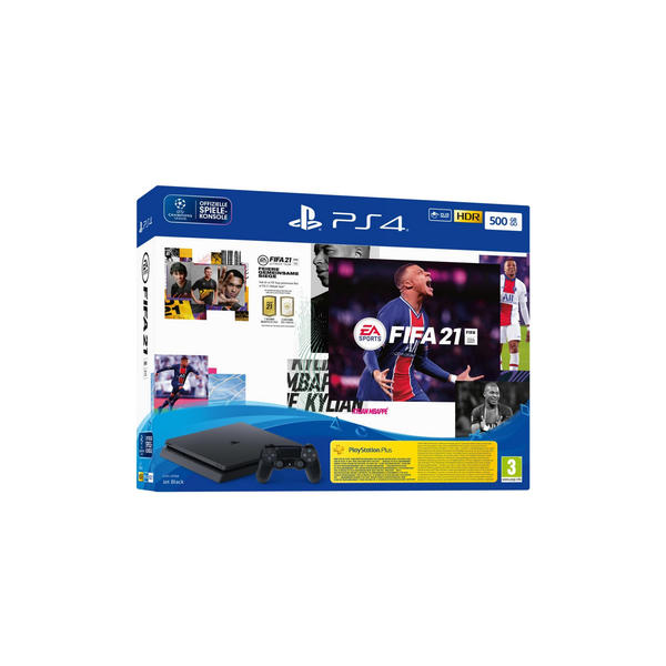 Sony PlayStation 4 Slim 500GB FIFA 21 9827429 inkl. EA Sports FIFA 21 PEGI 3