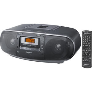 Panasonic RX-D55AEG-K schwarz USB,MP3,FB,Uhr