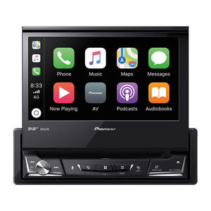 """Pioneer AVH-Z7200DAB 1-DIN-Mediacenter mit 7""""(17,8 cm)-ClearType-Touchscreen"""