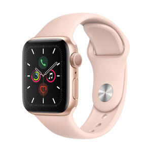 Apple Watch Series 5 GPS 40mm Gold MWV72FD/A Sportarmband Aluminiumgehäuse