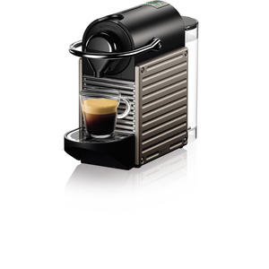 Krups XN304T Pixie electric titan Nespressomaschine