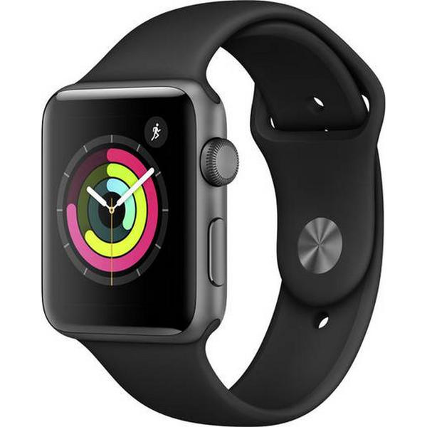 Apple Watch Series 3 GPS 42mm grau MTF32ZD/A Sportarmband Aluminiumgehäuse