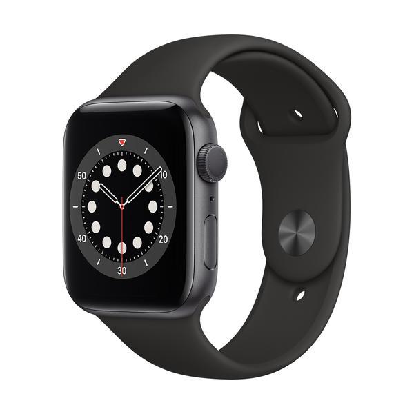 Apple Watch Series 6 GPS 44mm Grau M00H3FD/A Aluminiumgehäuse grau