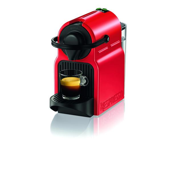 Krups XN1005 Nespresso Inissia Red Kapselmaschine Kaffeemaschine