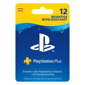 Sony PlayStation Plus 365 Tage Abo AT 9806745