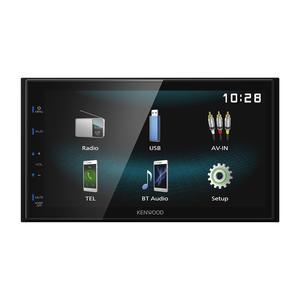Kenwood DMX120BT WVGA Digital Media Receiver mit Bluetooth