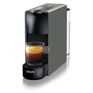 Krups XN110B Essenza Mini Grey Nespresso Kapselmaschine Kaffeemaschine