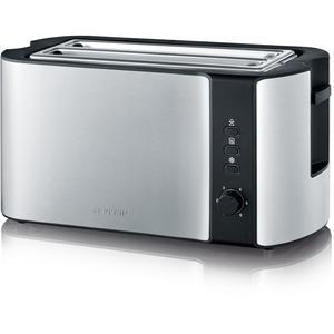 Severin AT2590 Toaster Toaster Edelstahl-gebürstet-schwarz