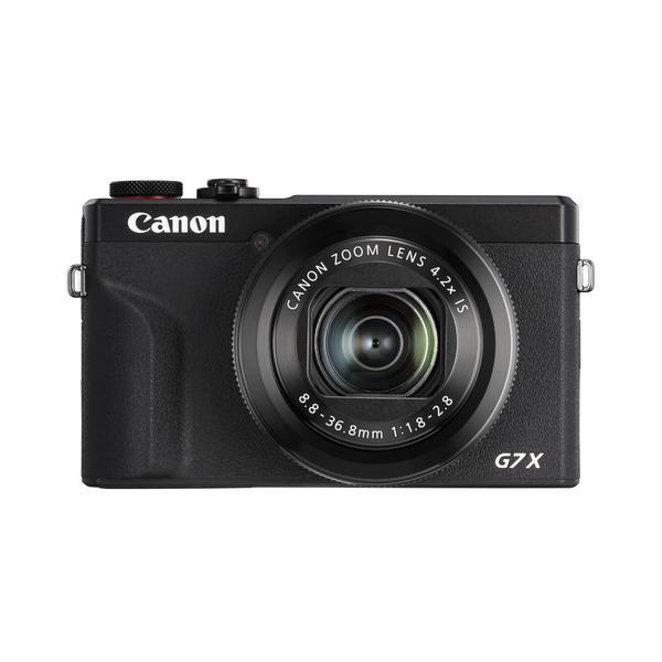 Canon PowerShot G7X MK III black Profi-Cam mit 1 Zoll Sensor