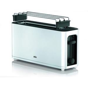 Braun HT 3110WH PurEase Toaste 2-Schlitz Toaster weiß