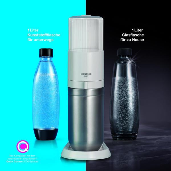SodaStream Duo Wassersprudler weiß Trinkwassersprudler
