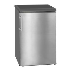 Exquisit KS 16-4 RVA++ inox Standkühlschrank