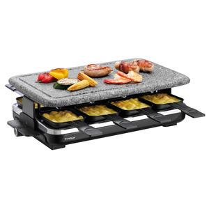 TRISA Hot Stone Raclette 7558.4212, 8 Pfännchen