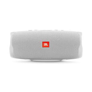 JBL Charge 4 weiß spritzwasserfester Lautsprecher