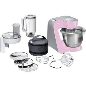Bosch MUM58K20 Styline Küchenmaschine gentle pink / silber