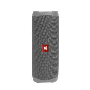 JBL Flip 5 grau Spritzwasserfest, Bluetooth Lautsprecher