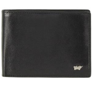 Braun Büffel Basic Geldbörse schwarz 12cm