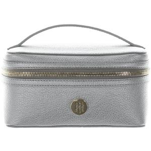 Tommy Hilfiger Beautycase TH Core silber 19cm