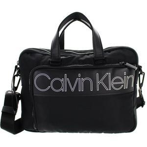 Calvin Klein Laptoptasche Double Logo 13,3 schwarz 36cm