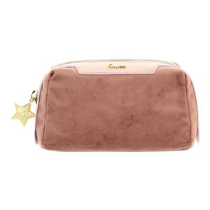 GUM Kosmetiktasche Velvet rosa 16cm