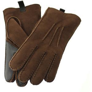 UGG Handschuhe Herren Shearling 3PT braun XL