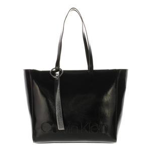 Calvin Klein Shopper Edged schwarz 32cm