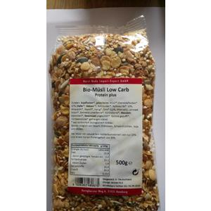 Bio Müsli Low Carb Protein plus 500g