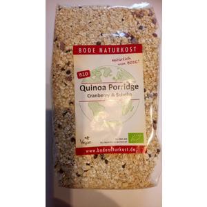 Bio Quinoa Porridge Cranberry-Schoko 400g