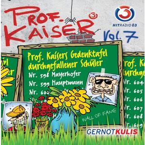 KULIS, GERNOT Prof. Kaiser Vol.7 CD- CD