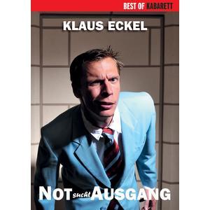 ECKEL, KLAUS Not sucht Ausgang- DVD