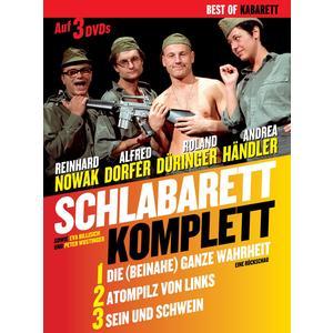 SCHLABARETT Komplett 3DVD- DVD