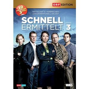 ORF EDITION Schnell ermittelt: Staffel 3- DVD