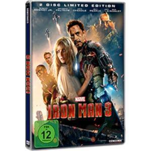 Iron Man 3 Steelbook#- DVD