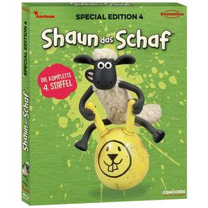 SHAUN DAS SCHAF Box 4 S.E.#- Blu-Ray