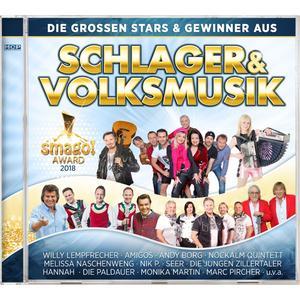VARIOUS Die grossen Stars & Gewinner aus Schlager & Volksmusik - Smago! Award 2018- CD