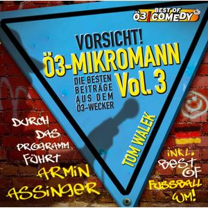 WALEK, THOMAS Ö3 Mikromann Vol.3 CD- CD