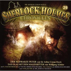 SHERLOCK HOLMES CHRONICLES Der schwarze Peter - Folge 29- CD