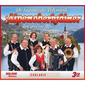 ALPENOBERKRAINER Die Legenden der Volksmusik - Ihre großen Hits- DCD