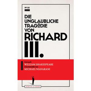 NIAVARANI, MICHAEL Richard III. Textbuch- Buch