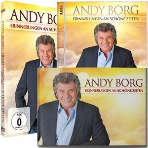 BORG, ANDY Erinnerungen an schöne Zeiten (CD+DVD inkl. Fotobuch)- DCD