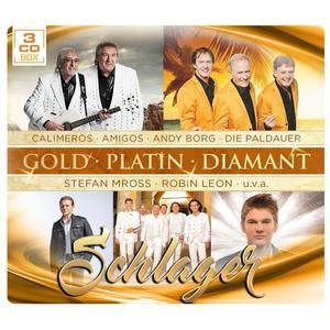 VARIOUS Schlager - Gold Platin Diamant- DCD