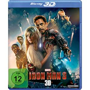 Iron Man 3 Real 3D#- Blu-Ray